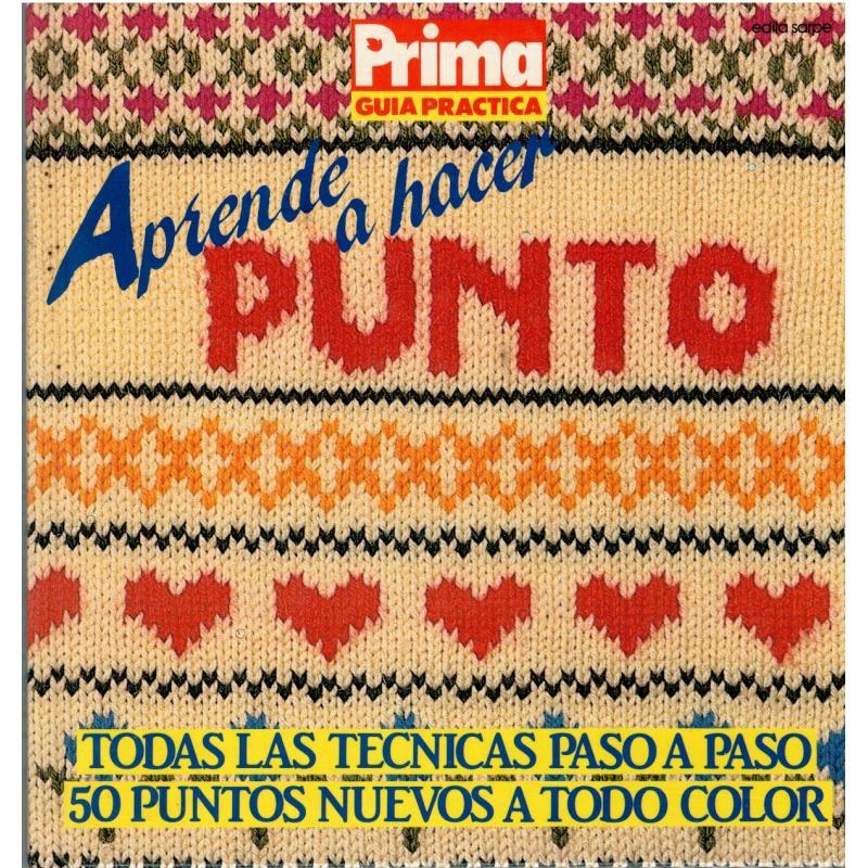 APRENDE A HACER PUNTO (Prima- Guía práctica) - Imagen 1