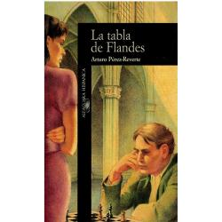 La tabla de Flandes (primera edición, quinta reimpresión, firmado por el autor) - Imagen 1